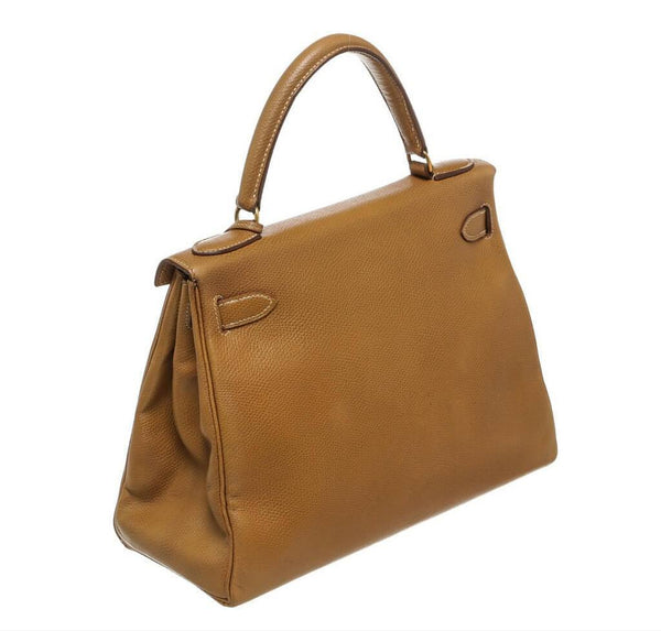 hermes kelly 28 gold used back
