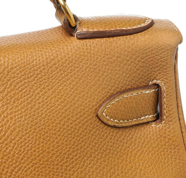 hermes kelly 28 gold used detail