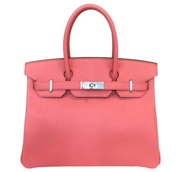 Hermes Birkin 30 Bag Pink Flamingo