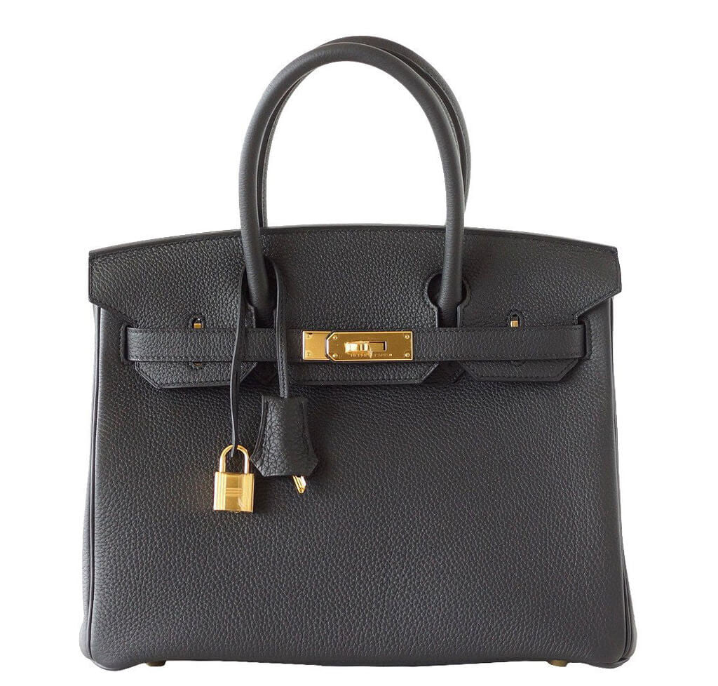 7f15161f770d ... leather with silver hardware 782a6 6de17  discount hermes birkin 30  plomb togo bag 7f854 21fb4