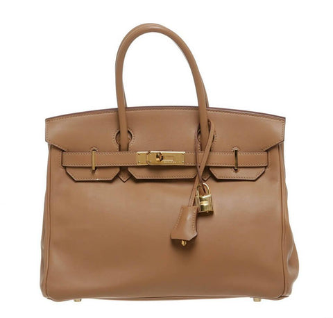 Hermes Birkin 30 Tan Bag Swift