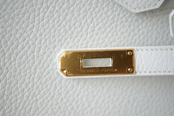 hermes birkin 30 white new engraving