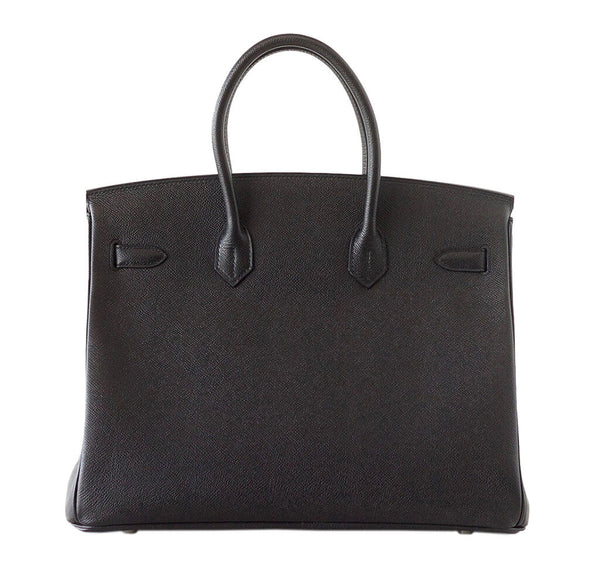 Hermes Birkin 35 Bag Black Epsom