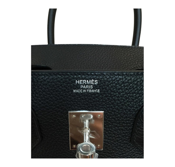 hermes birkin 35 black new embossing