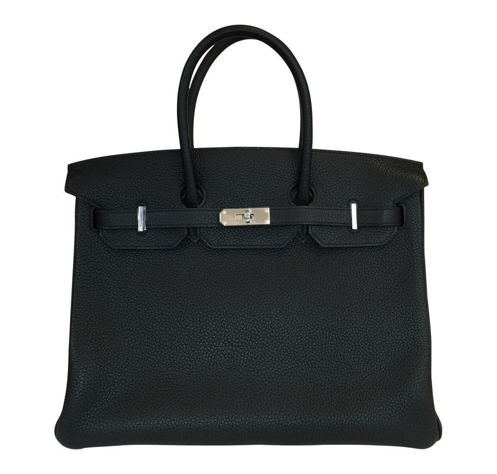 96b73b5d7b79 Hermès Birkin 35 Black - Togo Leather PHW