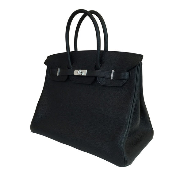 hermes birkin 35 black new side