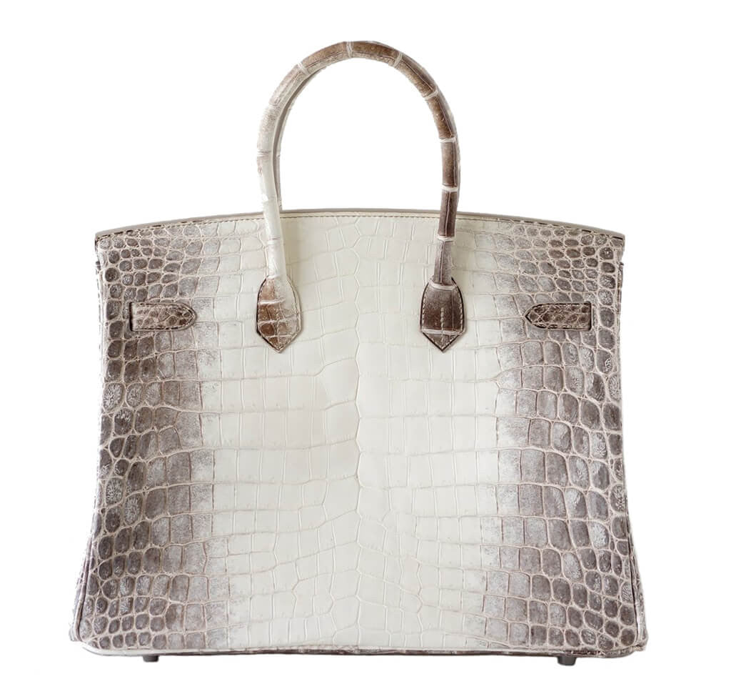 065b561ace8 ... Front Open Hermes Birkin 35 Blanc Himalayan Limited Edition Back ...