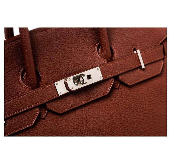 Hermes Birkin 35 Brown Used engraving