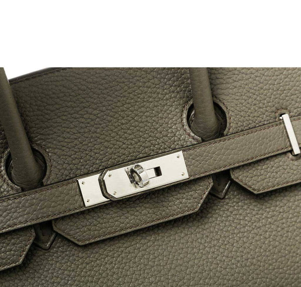 Hermes Birkin 35 Etain Gray New engraving