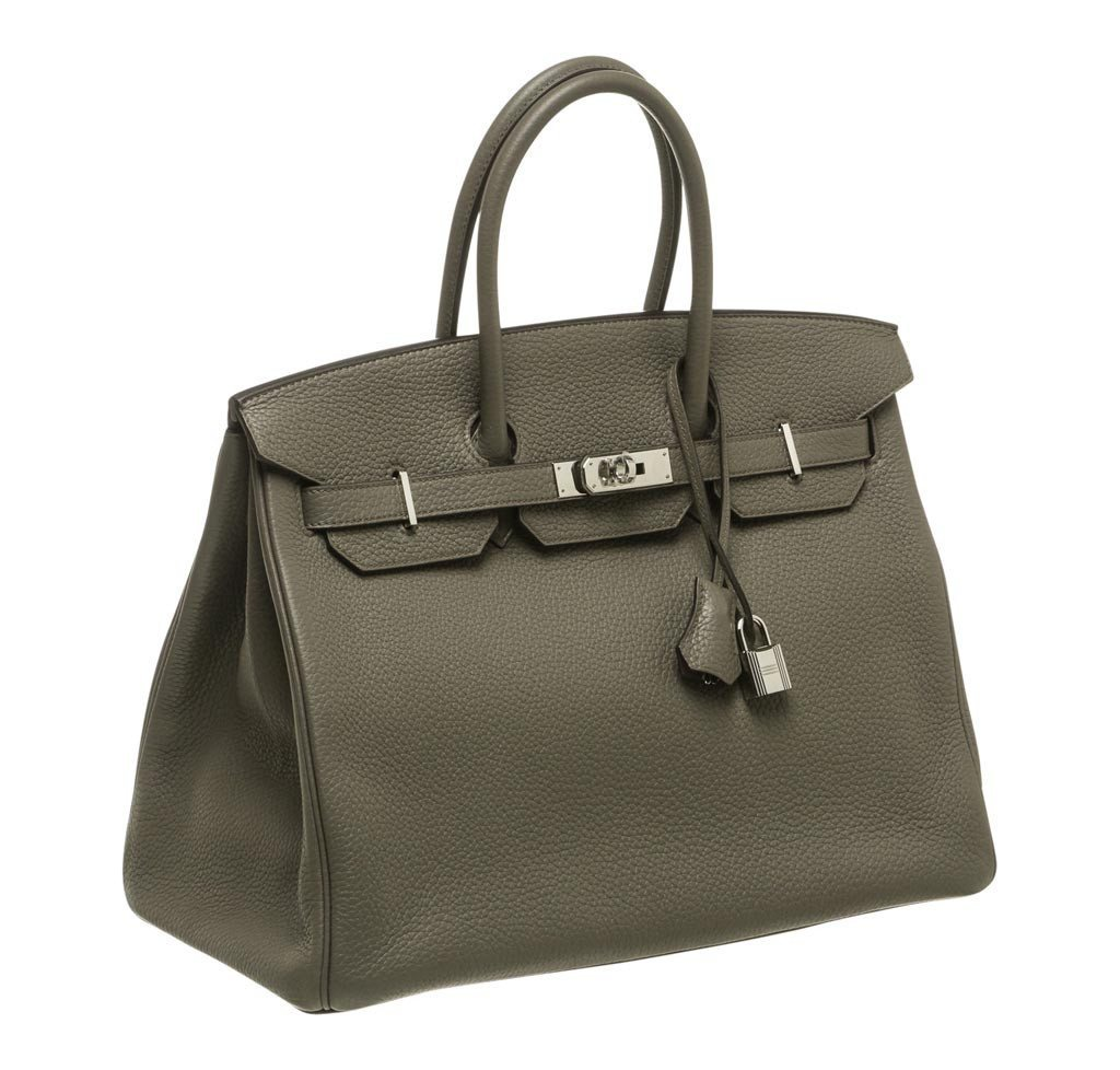 283db03648b7 Hermes Birkin 35 Etain Bag Hermes Birkin 35 Etain Gray New side ...