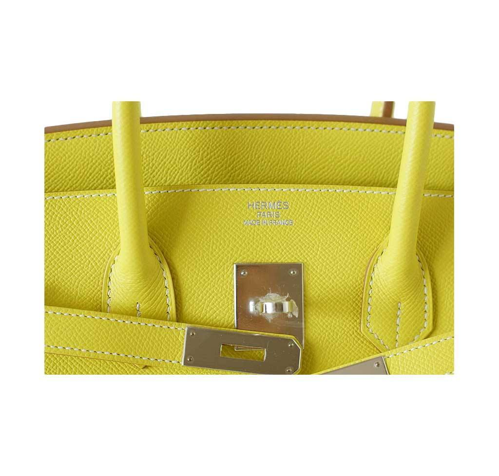 6b1e5b74dacd ... hermes birkin 35 lime candy series limited edition new embossing ...