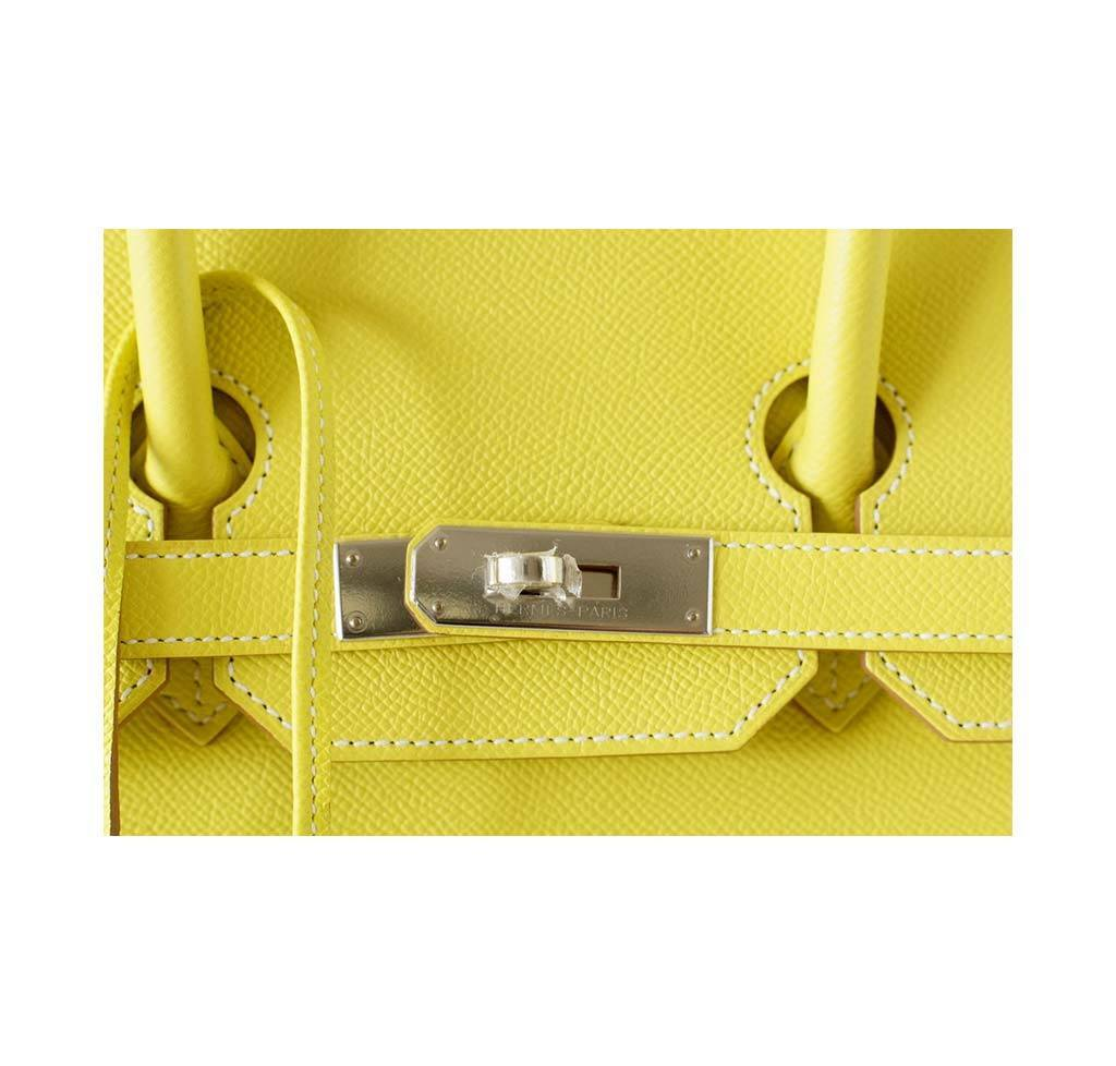 dee3cf111c7d ... hermes birkin 35 lime candy series limited edition new engraving ...