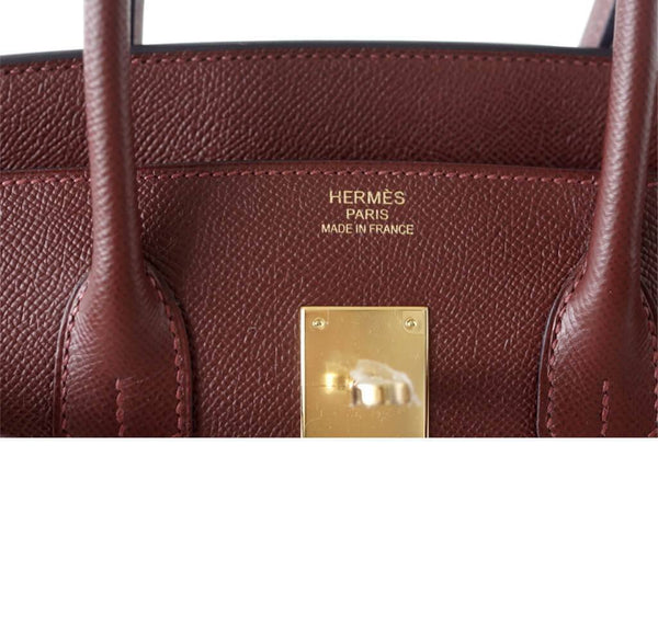 hermes contour birkin 35 rouge h limited edition new embossing