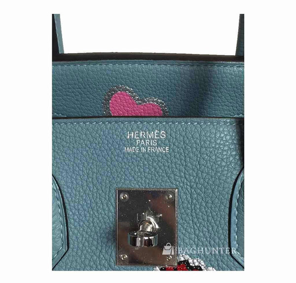 hermes birkin 35 special mickey mouse used embossing