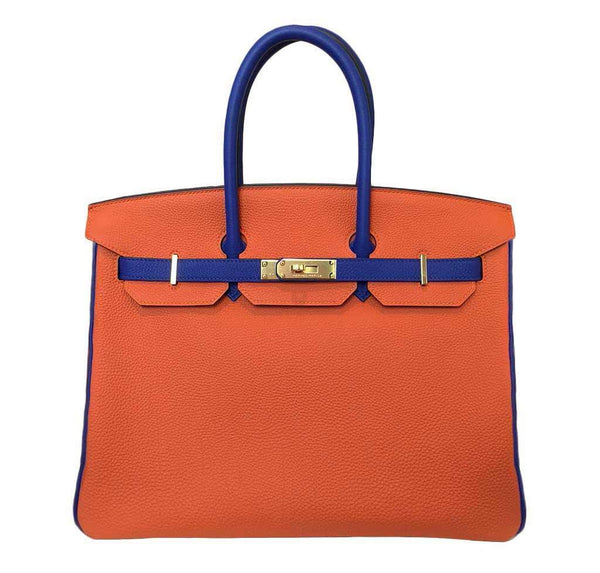 Hermes Birkin 35 Orange HSS Bag
