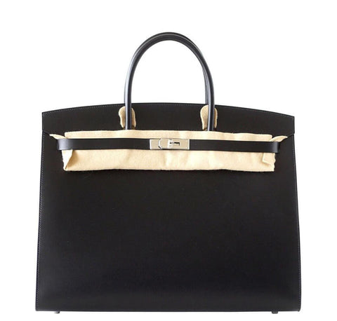 Hermes Birkin Sellier Black Bag