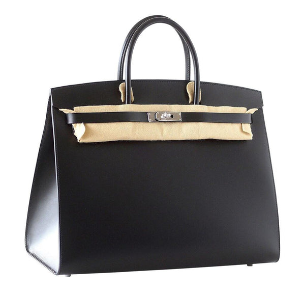 hermes birkin sellier 40 black limited edition new side