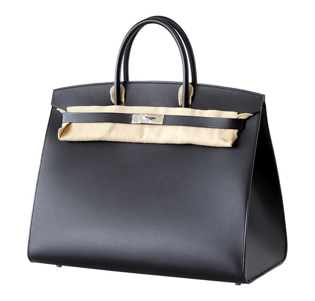 684ad1ae98c7 ... hermes birkin sellier 40 black limited edition new side ...