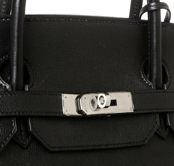 Hermes Birkin 40 Black Used Engraving