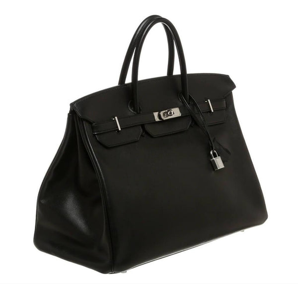 Hermes Birkin 40 Black Used Side