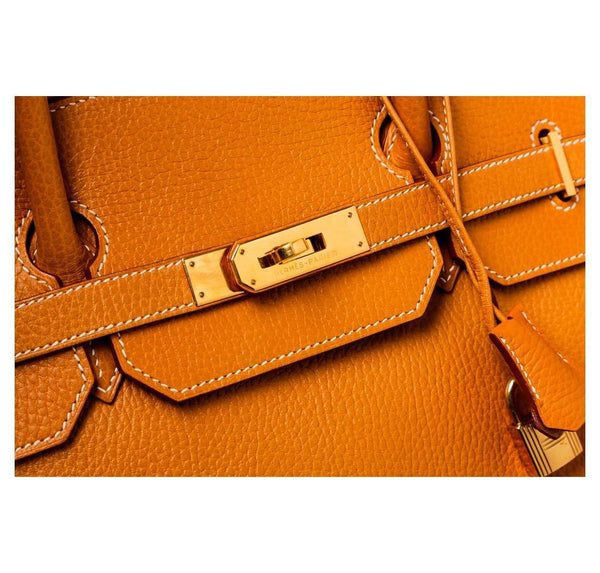 hermes birkin 40 gold used engraving