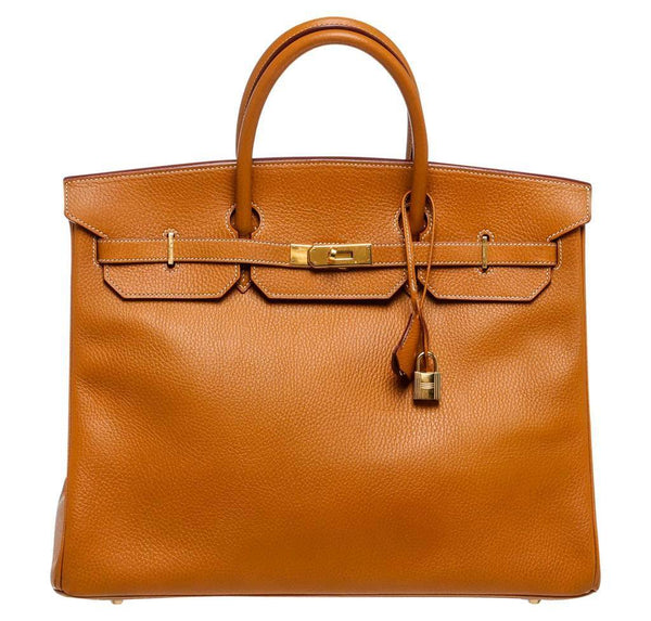 Hermes Birkin 40 Gold Togo Bag