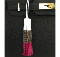 Hermes Tassel Charm Limited Edition Tri-Color