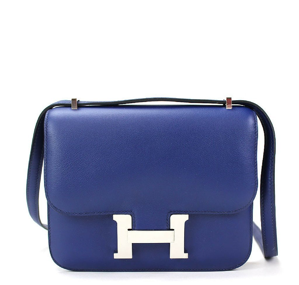 579ca0a333b2 Hermès Constance 18 Blue Izmir - Swift Leather PHW