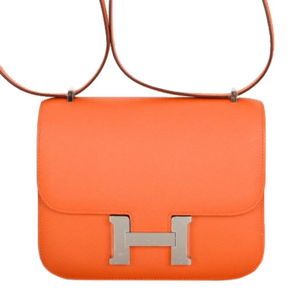 Hermes Constance 18 Bag Classic Orange