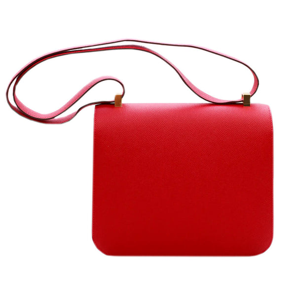Hermes Constance 24 Bag Rouge Casaque