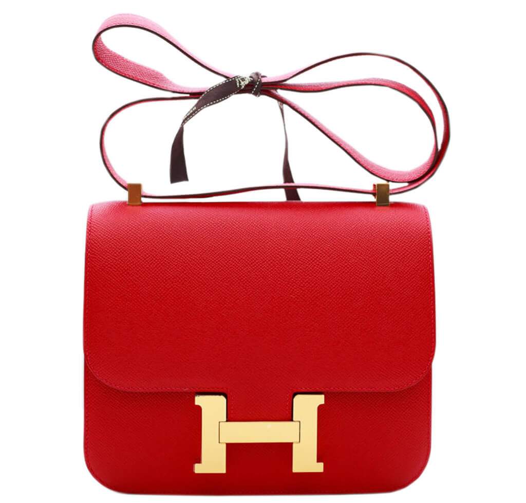 different styles of hermes bags - Hermes Constance 24 Bag Rouge Casaque Epsom Leather | Baghunter