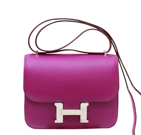 Hermes Constance Mini Anemone Bag