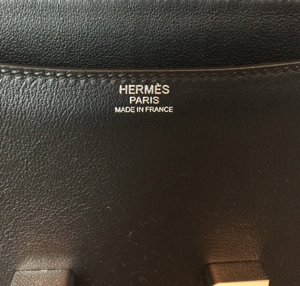 Hermes Constance 18 Bag Black Swift