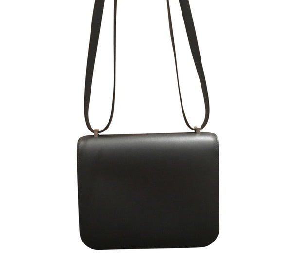 hermes constance mini 18 noir used back