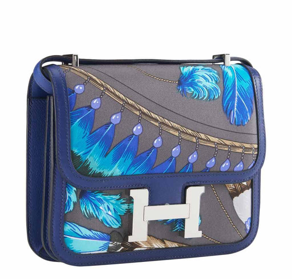 hermes constance mini brasil graphite limited edition new front side