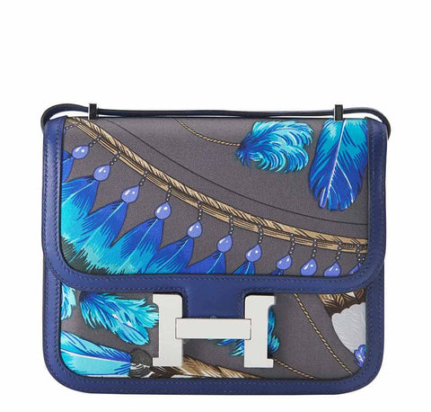Hermes Constance Mini Brasil Graphite Bag