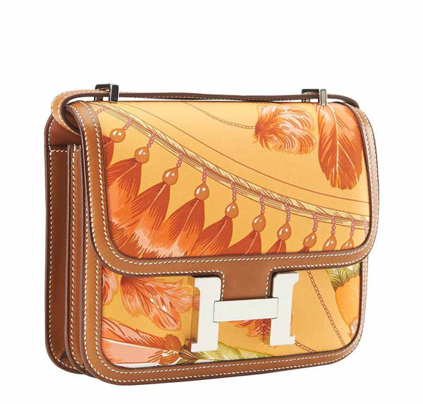 hermes constance mini brasil mangue limited edition new front side