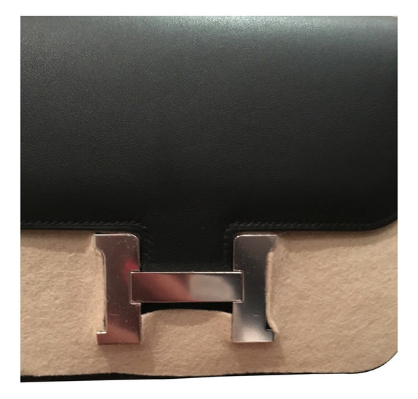 hermes constance mini 18 noir used detail