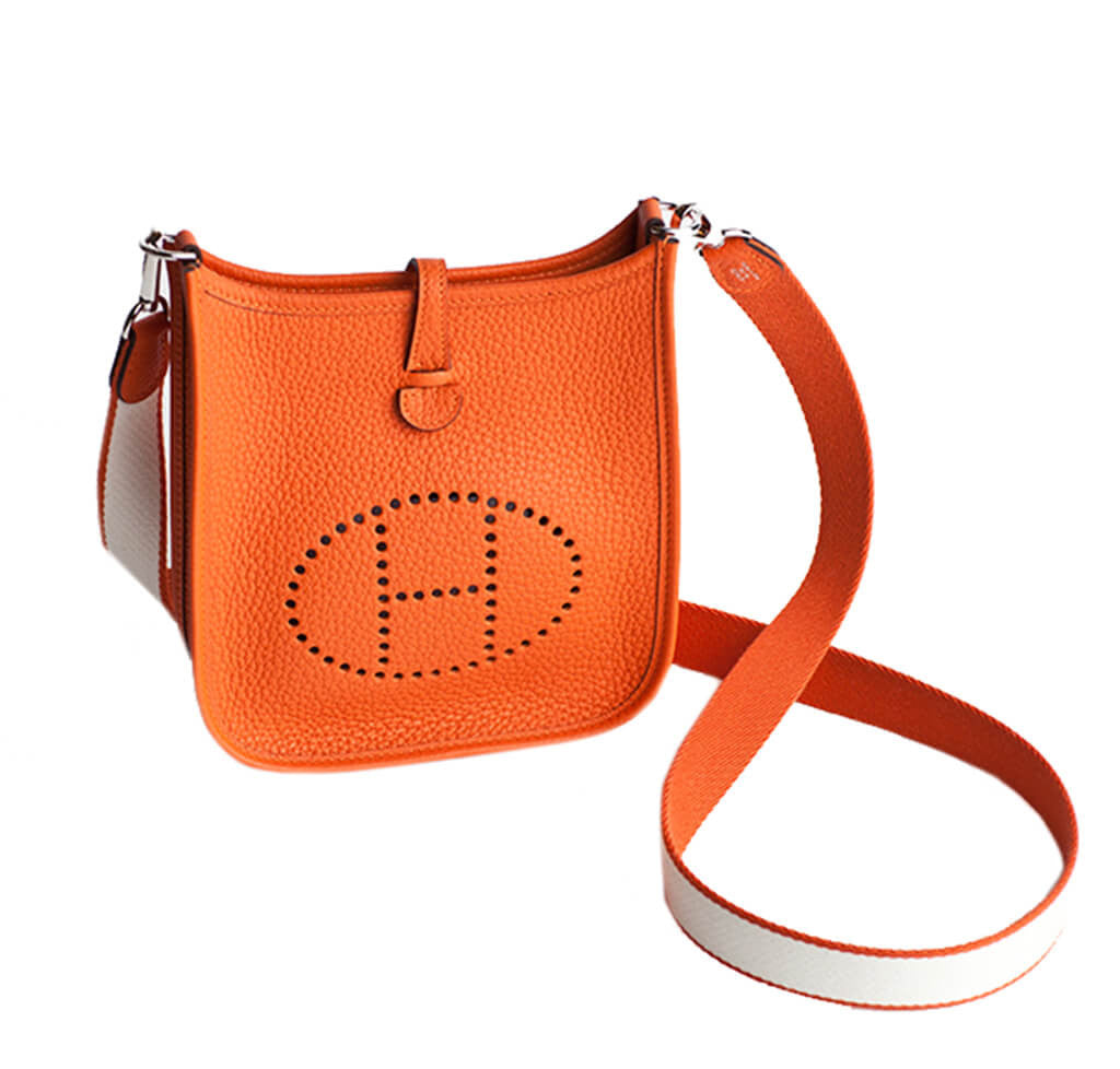 Hermes Evelyne Mini Bag TPM Orange Hermes Evelyne Mini Bag TPM Orange ... 6c8097045