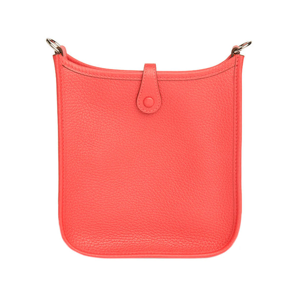 Hermes Evelyne Mini Bag Rouge Pivoine