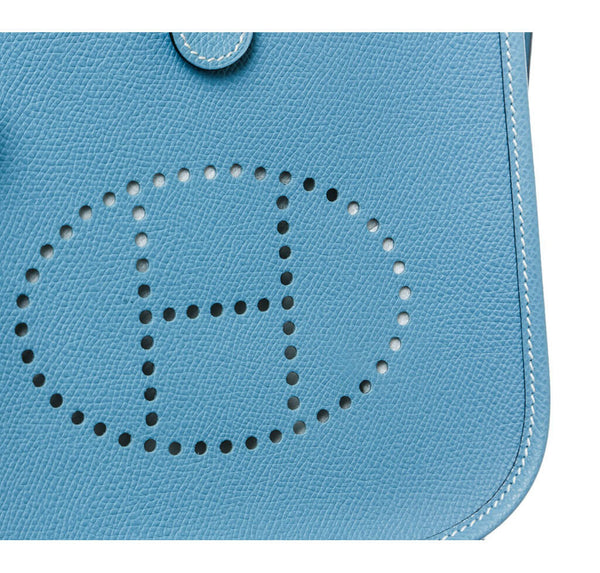 Hermes Evelyne II TPM Bag Blue