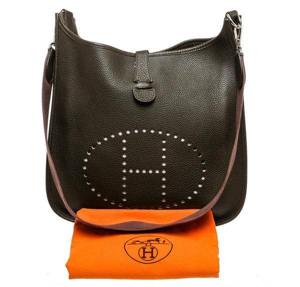 Hermes Evelyne I Bag Green Clemence