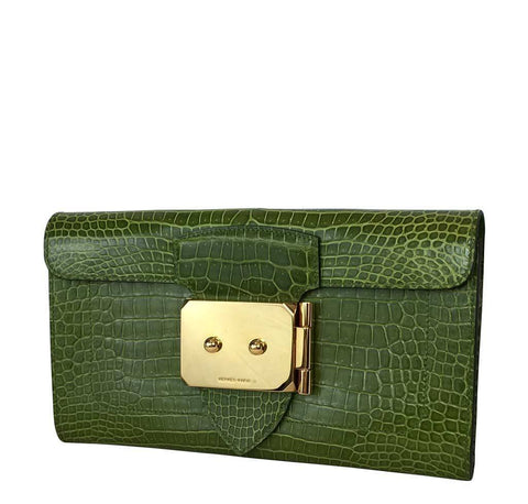 Hermes Goodlock Clutch Pelouse Bag