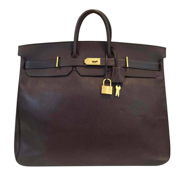 Hermes Birkin HAC 55 Brown Bag
