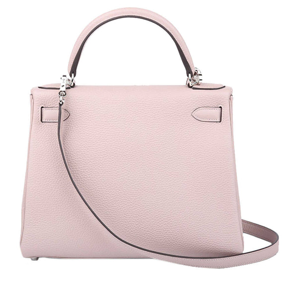 Hermes Kelly 28 Bag Glycine Togo