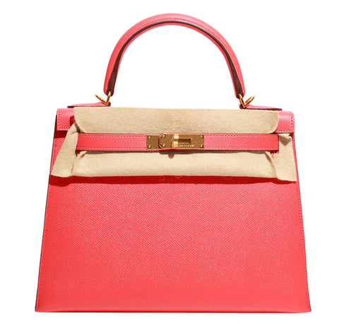 Hermes Kelly 28 Bag Rose Jaipur