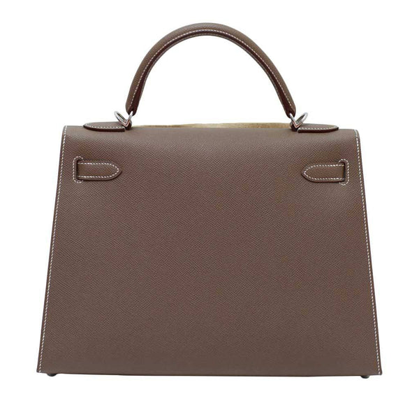 hermes kelly 32 etoupe new back