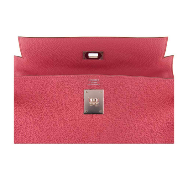 hermes kelly 32 rose lipstick new embossing