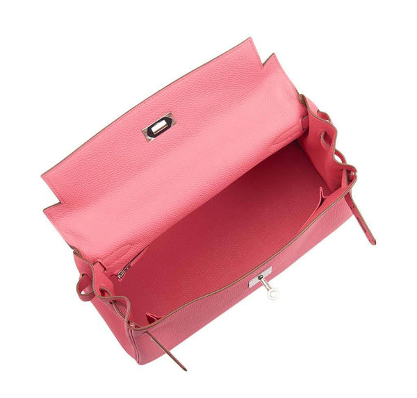 hermes kelly 32 rose lipstick new open