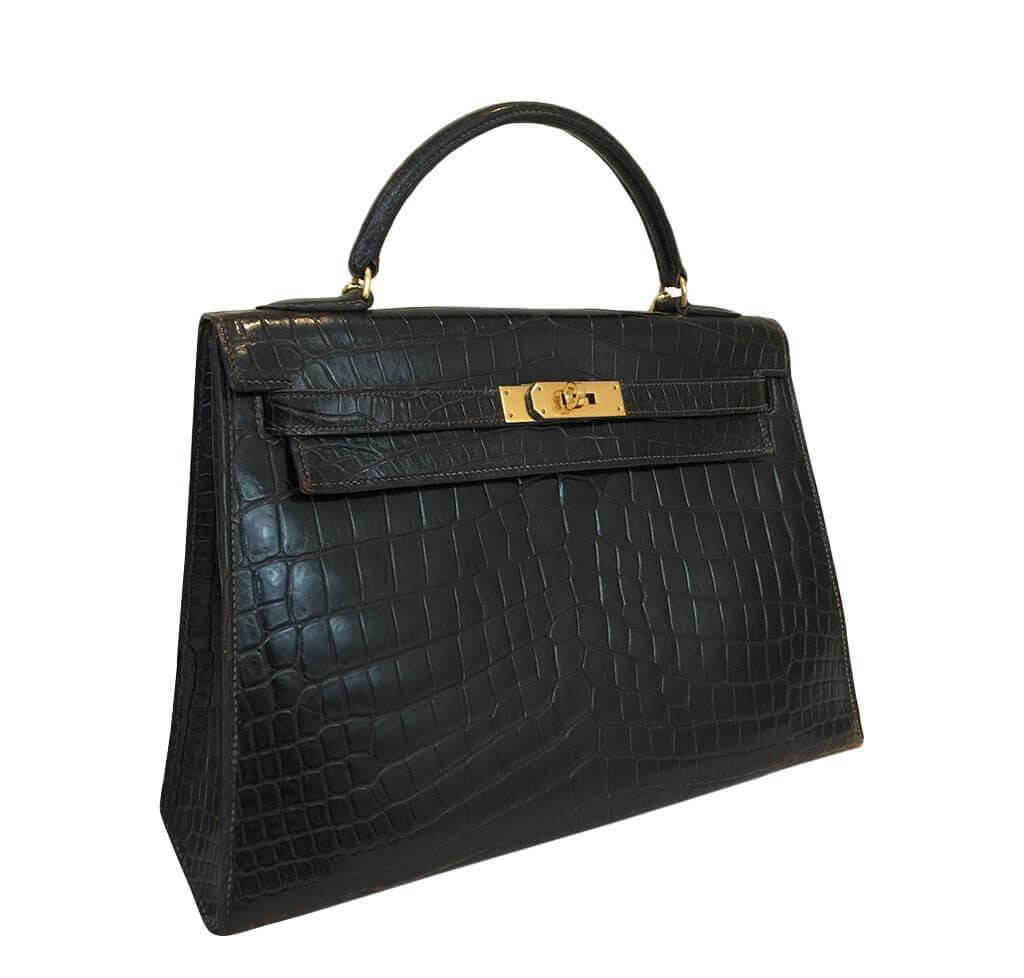 Hermes Kelly 32 Vintage Bag Crocodile Hermes Kelly 32 Vintage Bag Crocodile  ... 191c4ed83